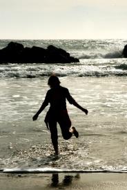 Pe Pfeiffer Beach, bucuria atingerii oceanului