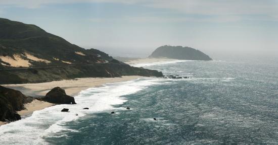 Plajă, Pacific