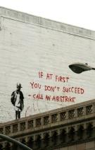 Banksy grafitti în Little Italy