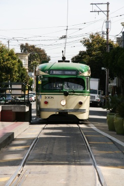 Castro District, tram