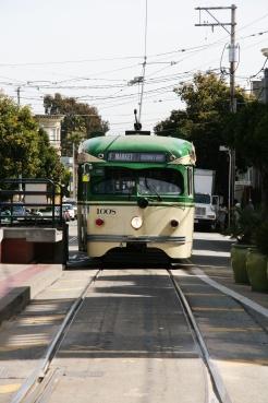 Castro District, tram