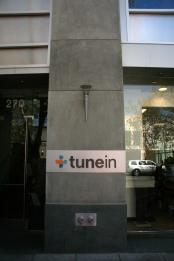 Palo Alto, sediul TuneIn