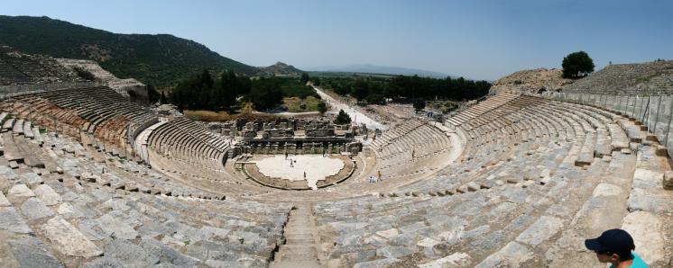 Ephesus (Efes), Amfiteatrul