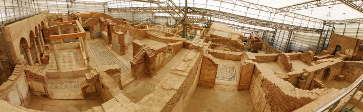 Efes, Casele de de deal