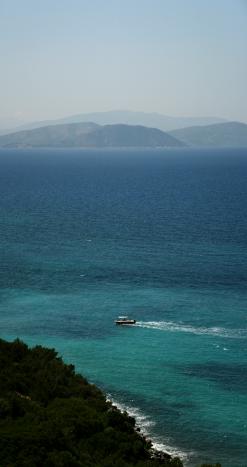 Milli Park, Samos (Grecia) la orizont