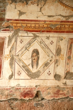 Efes, Casele de pe deal