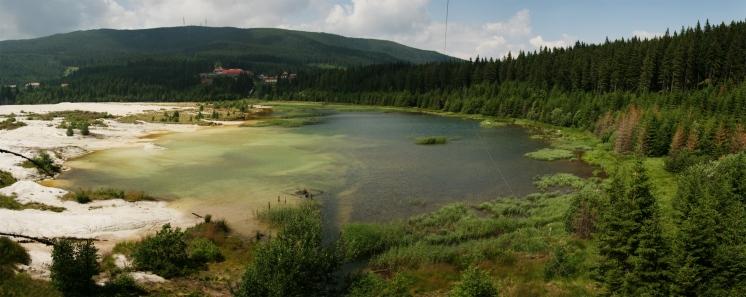 Lacul minei de caolin, Harghita Băi