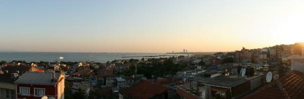Vedere de la hotel, Marmara, lângă Bosfor
