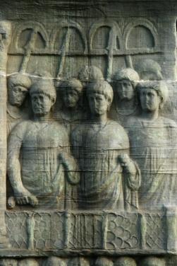 Coloana lui Theodosius, Hipodrom, Istanbuldetaliu