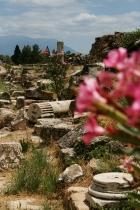 Ruine, Hierapolis, Pamukkale
