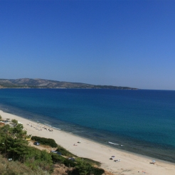Golden Beach, Limenaria, Thassos