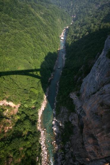 Tara Canyon, vedere de pe viaduct
