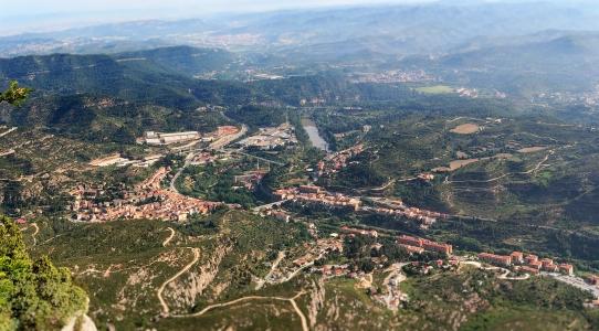 Panorama, Montserrat