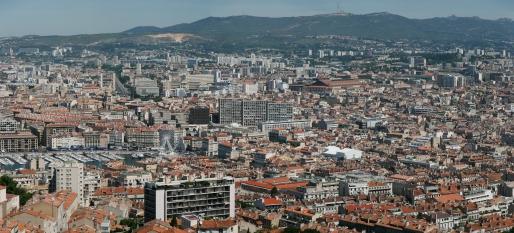 Panoramă, Marsilia, Notre-Dame de la Garde
