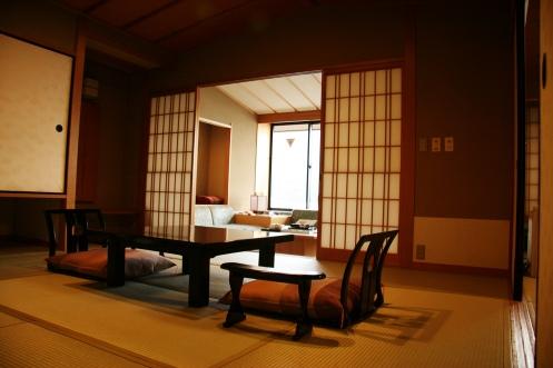 Cameră, ryokan