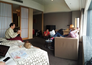 Tokyo, la hotel