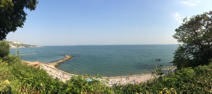 Balcic, plaja